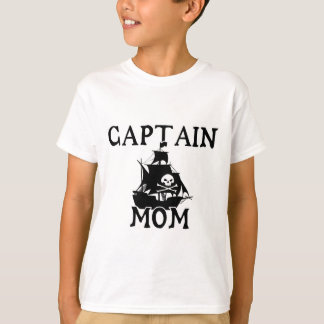 Captain Mom Kids T-Shirt