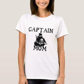 Captain Mom Ladies T-Shirt