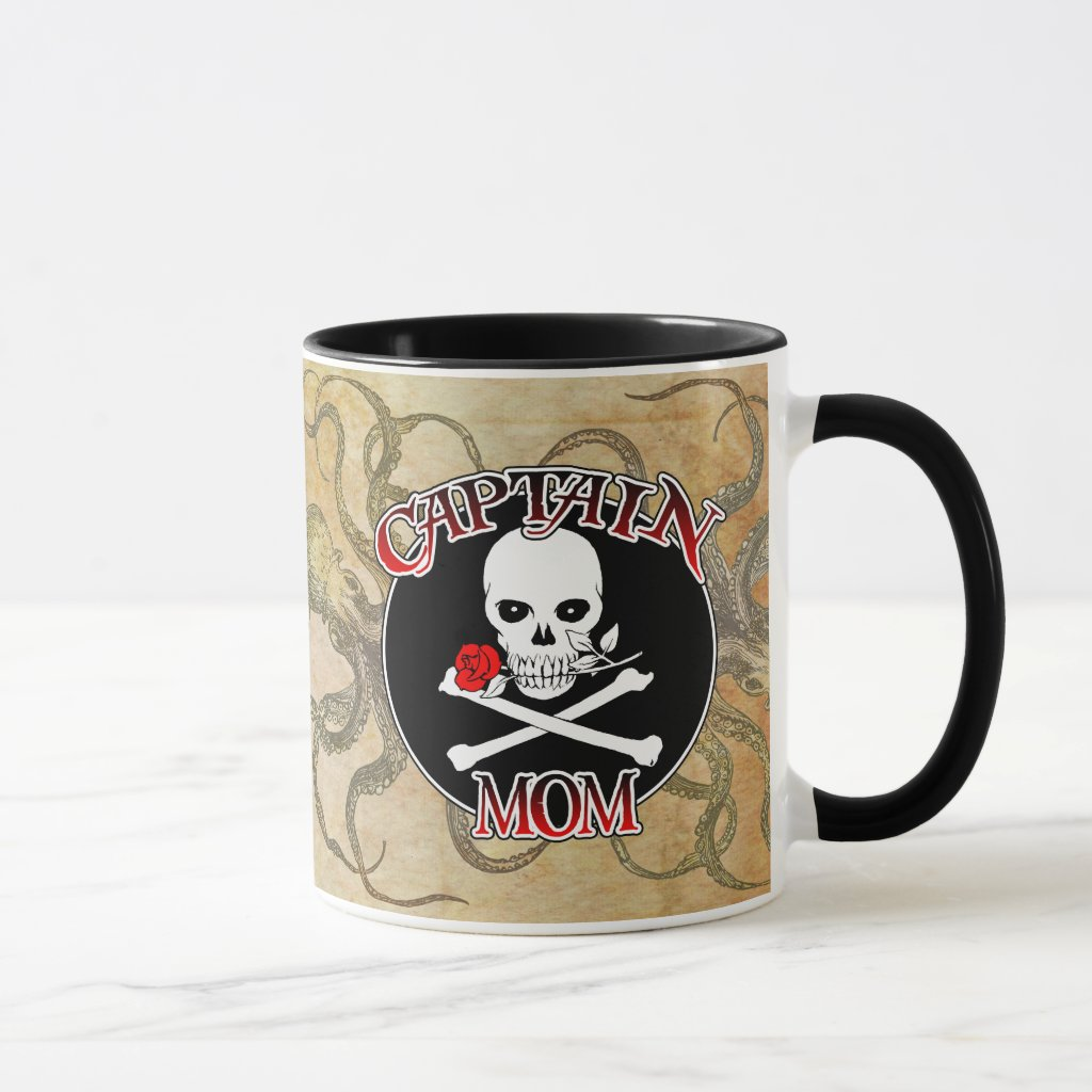 Captain Mom Mug