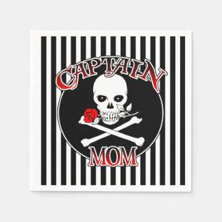 Captain Mom Paper Napkins