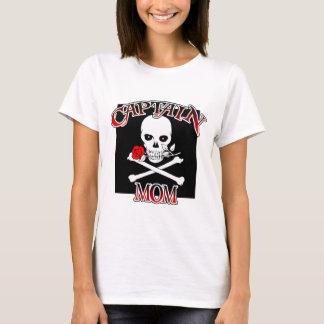 Captain Mom (Rose)Ladies T-shirt