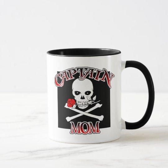 Captain Mom (Rose)Mug Mug