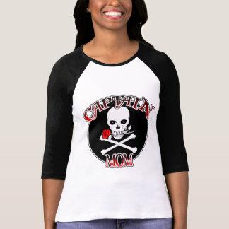 Captain Mom (Rose) T-Shirt