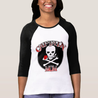Captain Mom (Rose) Tee Shirt