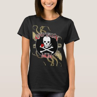 Captain Mom T-Shirt