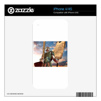 Captain Moroni Decal For iPhone 4