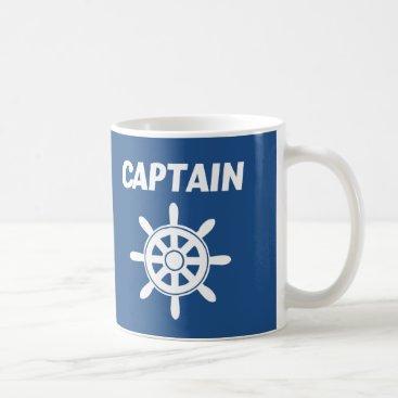 Beach Themed Captain Mug