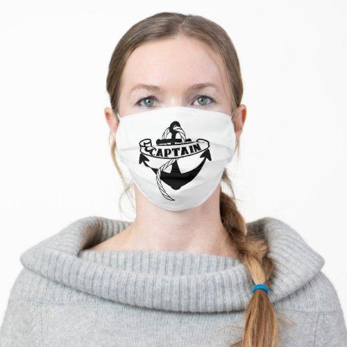 Captain Nautical Sailor Sailing Cool Cloth Face Mask