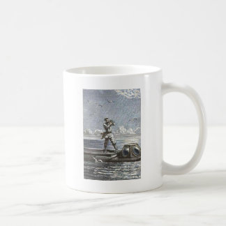 Captain Nemo Verne 20,000 Leagues Illustration Coffee Mug