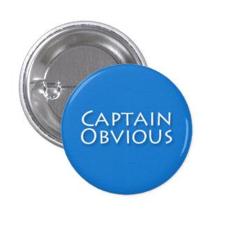 Captain Obvious Pins
