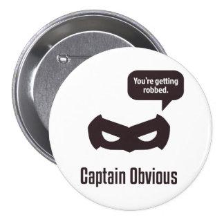 Captain Obvious Button