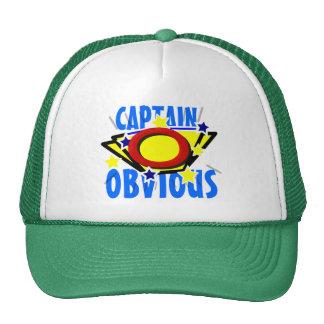 Captain Obvious Fun Trucker Hat