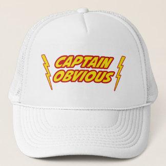 Captain Obvious Superhero Trucker Hat