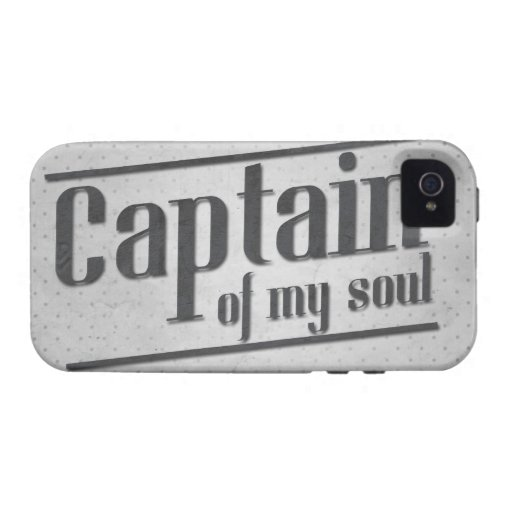 Captain of My Soul Case For The iPhone 4