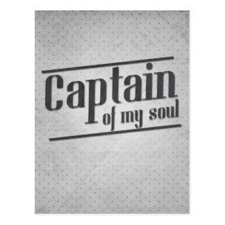 Captain of My Soul Postcard