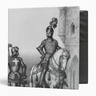 Captain of the archers of Paris 3 Ring Binder