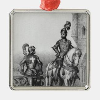 Captain of the archers of Paris Metal Ornament
