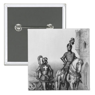 Captain of the archers of Paris Pinback Button