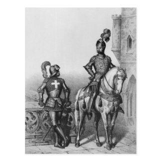 Captain of the archers of Paris Postcard