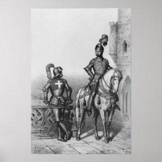 Captain of the archers of Paris Poster