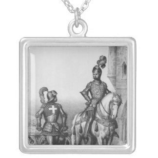 Captain of the archers of Paris Silver Plated Necklace