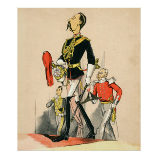 Captain of the Royal Horse Guards Poster
