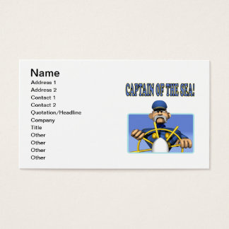 Captain Of The Sea Business Card