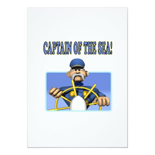 Captain Of The Sea Card