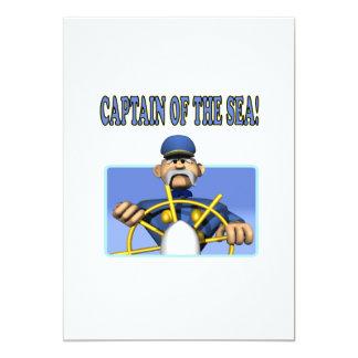 Captain Of The Sea 5x7 Paper Invitation Card