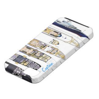 Captain on Deck iPhone SE/5/5s Case