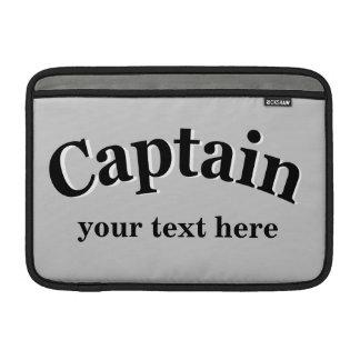 Captain para personalizar funda  MacBook