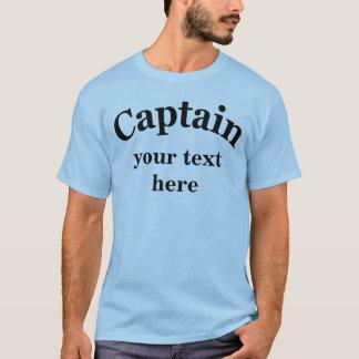 Captain para personalizar playera