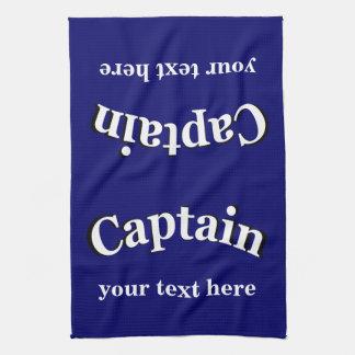 Captain para personalizar toalla de mano