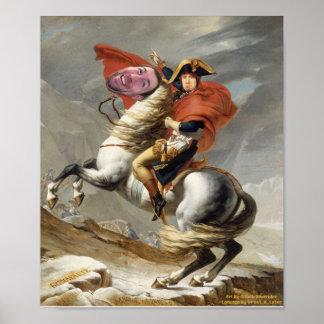 Captain Patrck & His Mighty Steed Wade Poster