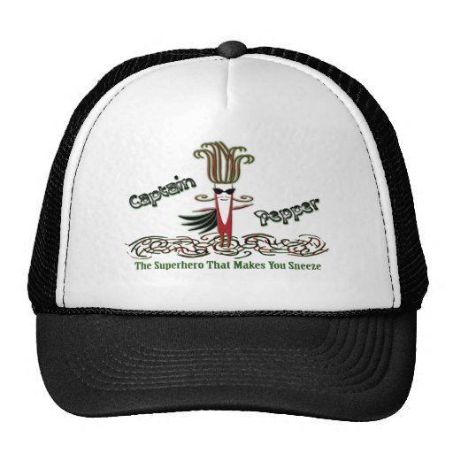 Captain Pepper Trucker Hat