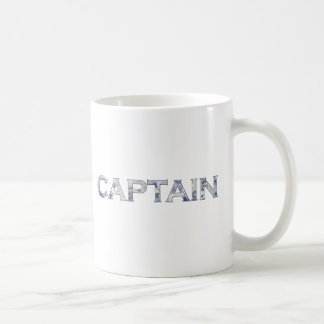 Captain personalized gifts classic white coffee mug