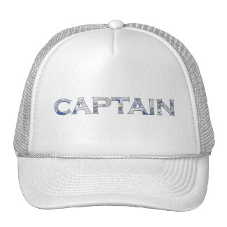 Captain personalized gifts trucker hat