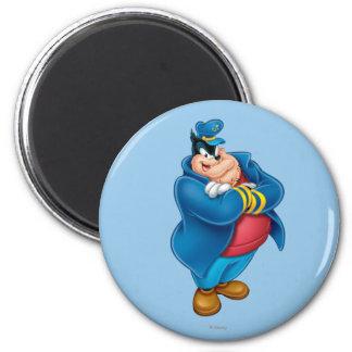 Captain Pete 2 Inch Round Magnet