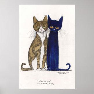 Captain & Pete on Canvas Poster