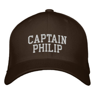 Captain Philip Embroidered Baseball Hat
