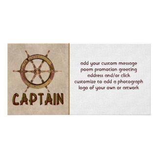 Captain Photo Card
