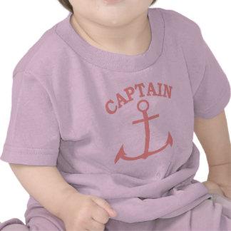 Captain Pink Anchor Infant T-shirt