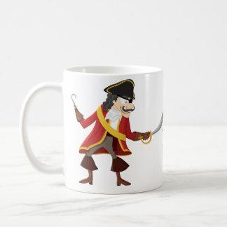 Captain pirate coffee mug