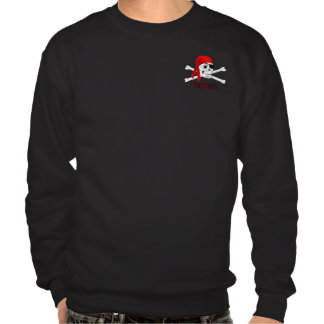 Captain Pirate Skull & Bones Mens Sweatshirt