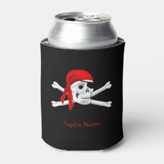 Captain Pirates Custom Pirate Can Cooler