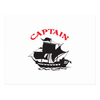 CAPTAIN POSTCARD