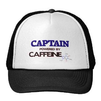 Captain Powered by caffeine Trucker Hat