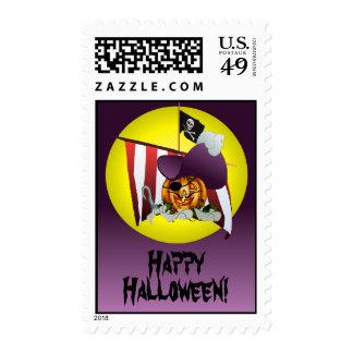 CAPTAIN PUMPKIN HOOK by SHARON SHARPE Stamp