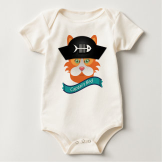 Captain Red - Baby American Apparel Organic Bodysuit