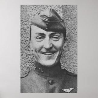 Captain Rickenbacker Poster
